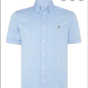 Ralph Lauren Light Blue Boys Shirt Size 10/12